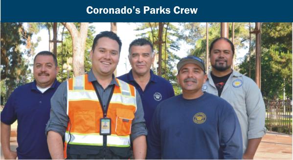Coronado's Parks Crew