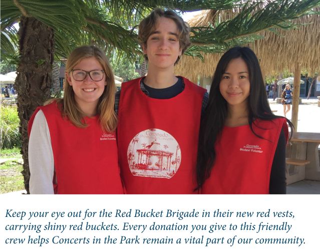 Our Fabulous Red Bucket Brigade