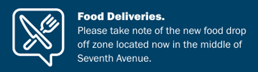 Coronado Food Delivery Rules and Location
